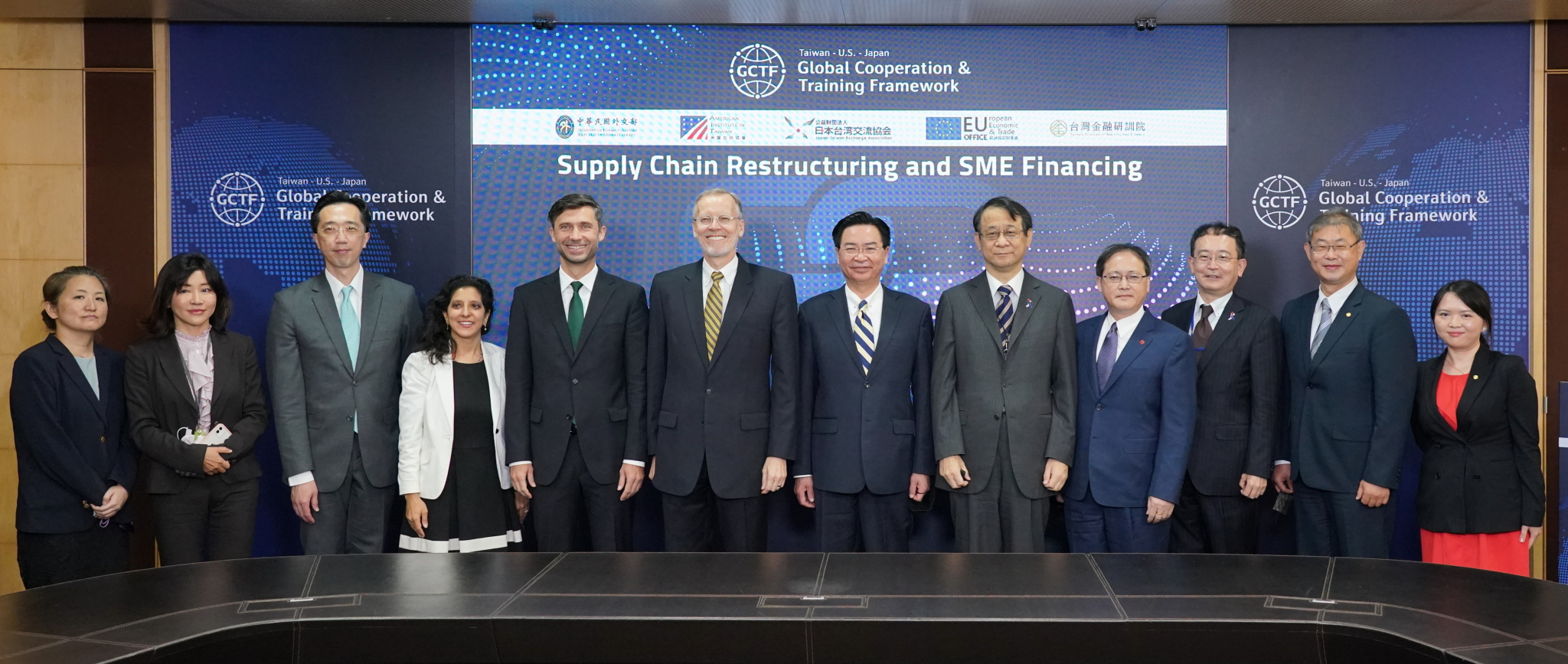 Global Cooperation and Training Framework (GCTF) on Supply Chain Restructuring and SME Financing  Session 1: Global Supply Chain Restructuring In The Indo Pacific